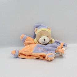 Doudou marionnette ours Tomi adore les bonbons BABY NAT