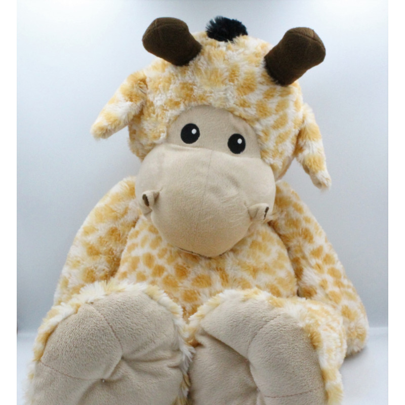 Grand Doudou peluche girafe SYSTEME U