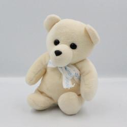 Doudou ours blanc écru NOUNOURS