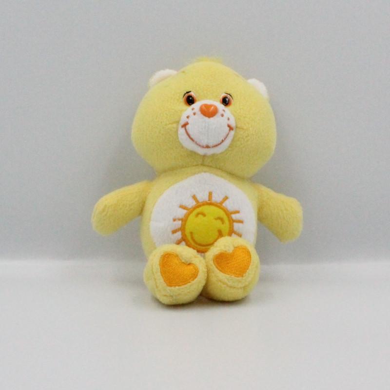 Peluche Bisounours jaune soleil  Grosjojo CARE BEARS
