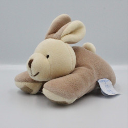 Doudou lapin beige marron COMPTINE