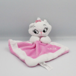 Doudou plat Chat Marie rose blanc Les Aristochats NICOTOY