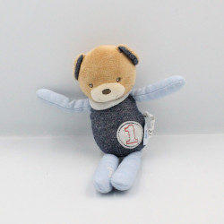 Doudou ours bleu jean Blue Denim KALOO