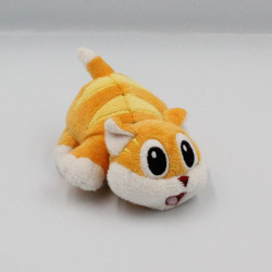 Mini peluche chat tigre orange GIOCATTELI SICURI