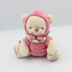 Doudou nature bearries ours déguisé en fraise FISHER PRICE