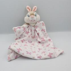 Doudou lapin Miss Bunny mouchoir Pan-pan DISNEY STORE
