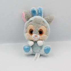 Doudou lapin gris bleu Pan-pan Panpan gros yeux brillant DISNEY NICOTOY