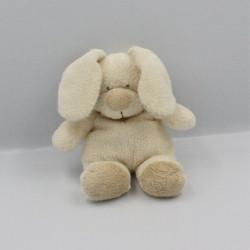 Doudou lapin écru beige NICOTOY