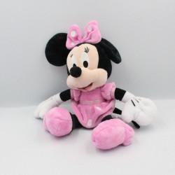 Peluche Minnie robe rose à pois brillant DISNEY NICOTOY