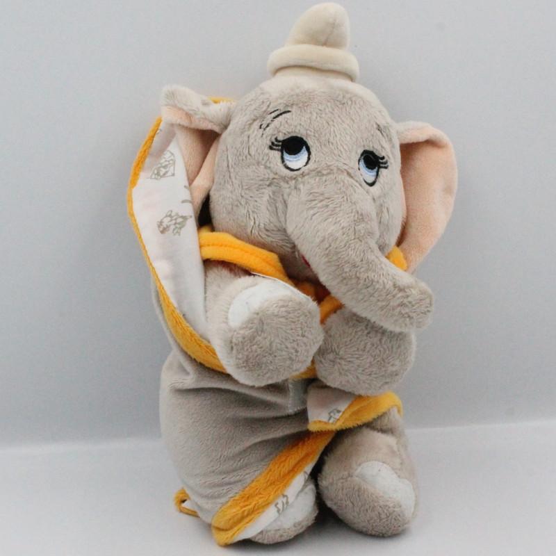 Doudou éléphant Dumbo mouchoir couverture DISNEY NICOTOY