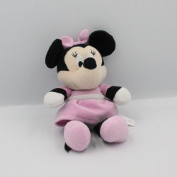 Doudou Minnie robe rose DISNEY NICOTOY