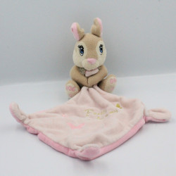 Doudou lapin Pan-pan Pretty Miss Bunny avec mouchoir DISNEY BABY