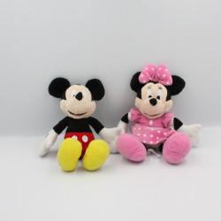 Doudou Minnie robe rose et Mickey DISNEY NICOTOY