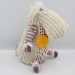 Doudou mouton blanc Poilodos BABY DEGLINGOS