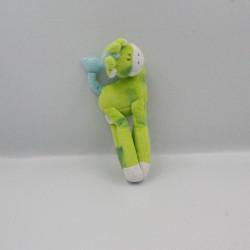 Doudou Ma girafe aimantée verte bleu TIGEX