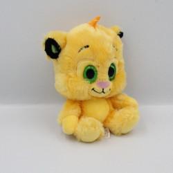 Peluche Simba le roi lion gros yeux brillant DISNEY NICOTOY