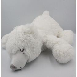 Grande peluche ours polaire BLANCHE PORTE