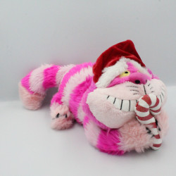 Doudou chat du Cheshire Noël Alice aux pays des merveilles DISNEYLAND