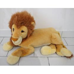 Grande Peluche le roi lion Simba Mufasa DISNEY MATTEL Vintage