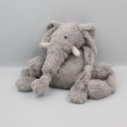 Doudou peluche éléphant gris JELLYCAT