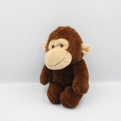 Doudou peluche singe marron BEST MADE TOYS
