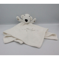 Doudou plat ours blanc Cuddle Please PRIMARK EARLY DAYS