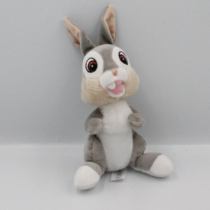 Doudou lapin gris Pan-pan Panpan DISNEY NICOTOY