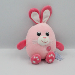 Doudou sonore lapin rose GIPSY