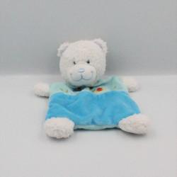 Doudou plat ours bleu...