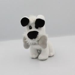 Doudou peluche chien blanc Idéfix avec os Gris Astérix