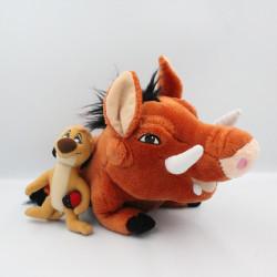 Peluche Phacochère Timon et Pumbaa Pumba le roi lion DISNEYLAND