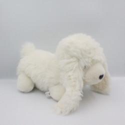 Peluche chien blanc SALOCO HARLOW
