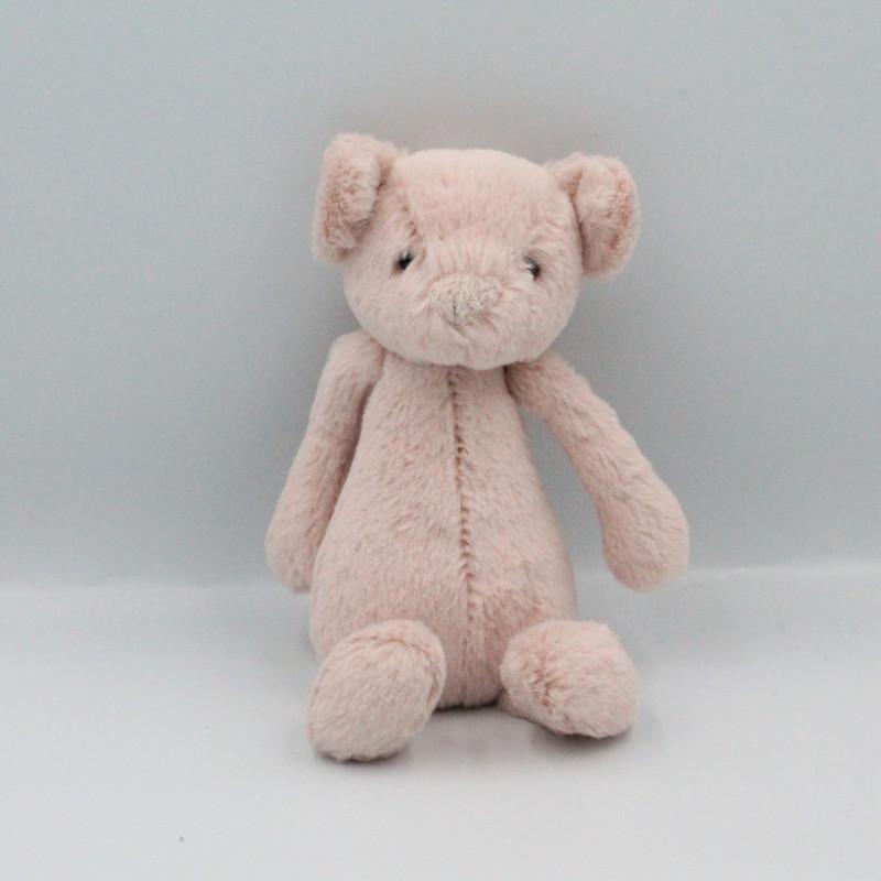 Doudou cochon rose clair JELLYCAT