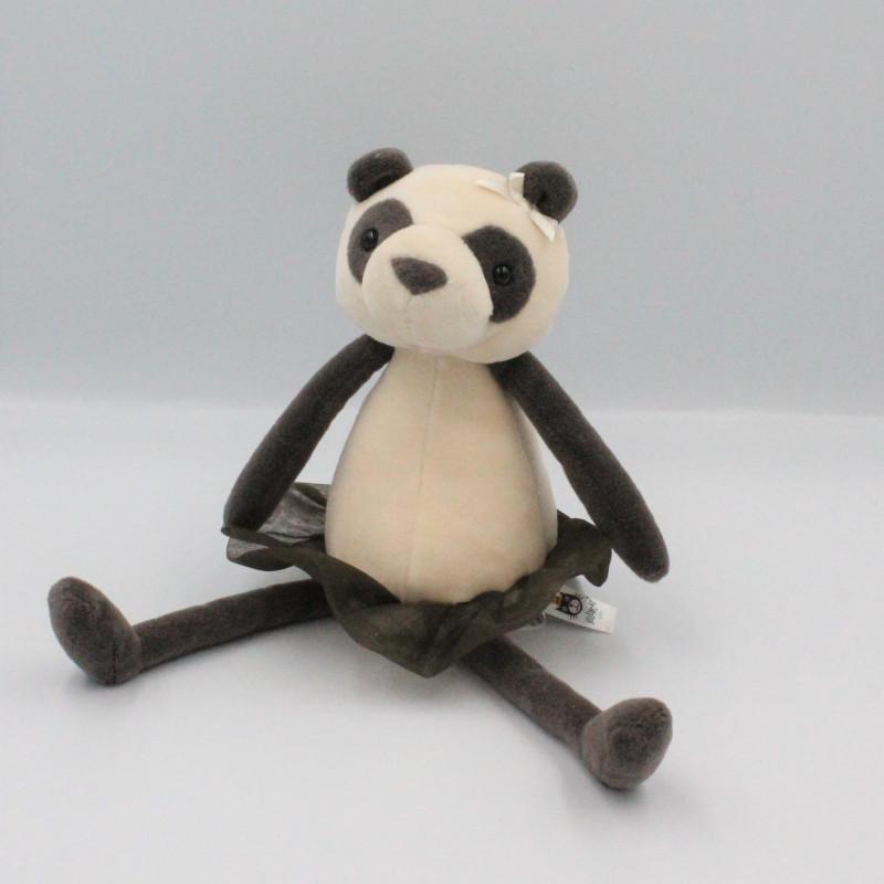 Doudou peluche panda jupe tutu JELLYCAT