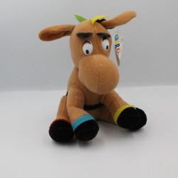 Peluche Ane cheval marron avec selle CHARACTER PMS