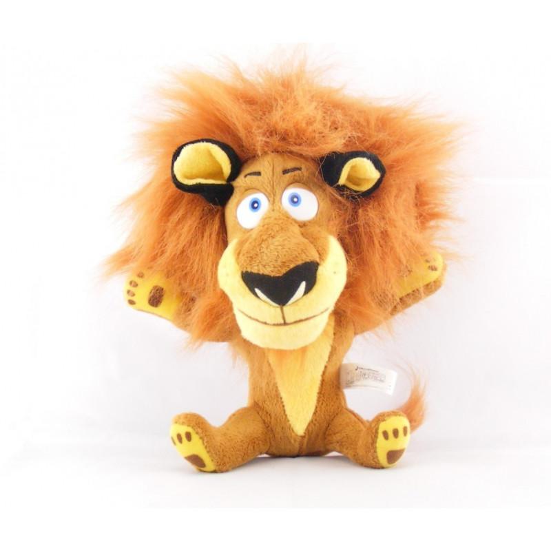 Peluche lion Alex Madagascar DREAMWORKS