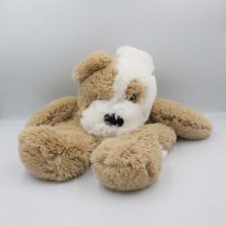Doudou range pyjama chien beige blanc ETAM
