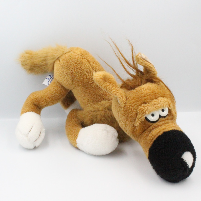 Ancienne peluche chien Rantanplan Lucky Luke AJENA