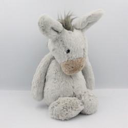 Doudou cheval ane gris JELLYCAT