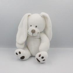 Doudou lapin blanc marron SIMBA TOYS KIABI