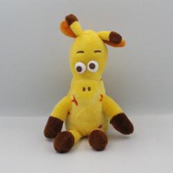 Doudou girafe jaune TOYSRUS TOYS'RUS