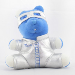Doudou Ours bleu Musti Mustela