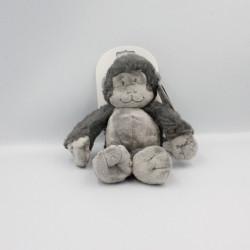 Doudou singe gris Pairi Daiza NOUKIE'S