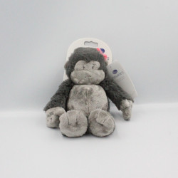 Doudou singe Guenon gris Pairi Daiza NOUKIE'S