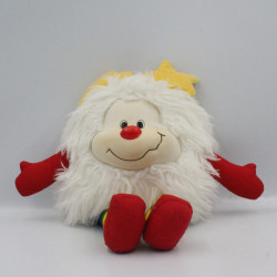 Ancienne Peluche Rainbow blondine blanc Année 1983
