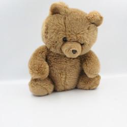Ancienne peluche ours marron