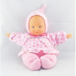 Doudou bébé poupée Baby Pouce rose COROLLE 2006