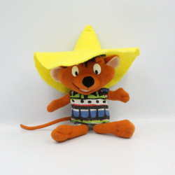 Peluche souris Speedy Gonzales LOONEY TUNES PLAY BY PLAY