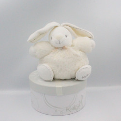 Doudou lapin blanc P'tit lapinou PERLE KALOO