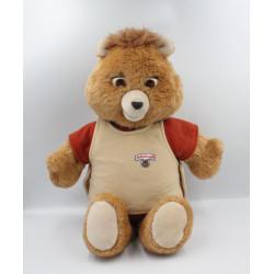 Ancienne peluche ours Teddy Ruxpin Cassette Année 1985